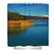 Scenic Shasta Lake Shower Curtain