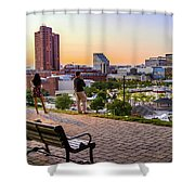 Scenic View From Federal Hill Shower Curtain