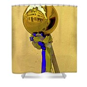 Scenography Shower Curtain