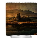 Scent Of Pines Shower Curtain