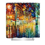 Scent Of Rain Shower Curtain