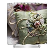 Scent Of Roses Shower Curtain