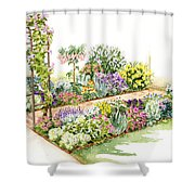Scented Segue Shower Curtain