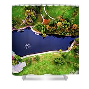 Schenk Lake Shower Curtain