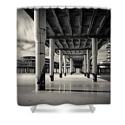 Scheveningen Pier 3 Shower Curtain