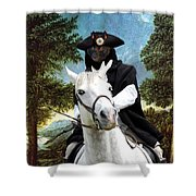 Schipperke Art Canvas Print - The Danube Valley Near Regensburg Shower Curtain