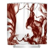 Schizophrenia Shower Curtain