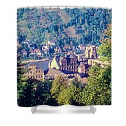Schloss Heidelberg Shower Curtain