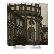 Schlosspark Biebrich Shower Curtain