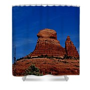 Schnebly Hill Vortex  Shower Curtain