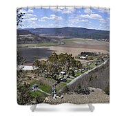 Schoharie Valley Shower Curtain