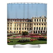 Schonbrunn Palace And Gardens Shower Curtain