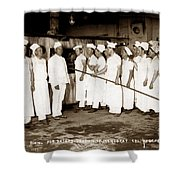 School For Bakers Presidio Of Monterey October 1915 Shower Curtain
