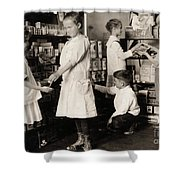 School Store, 1917 Shower Curtain