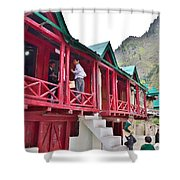 Schoolhouse At Pandeshwar India Shower Curtain