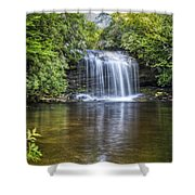 Schoolhouse Falls Shower Curtain