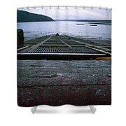 Schooner Bay - Point Reyes National Seashore Shower Curtain