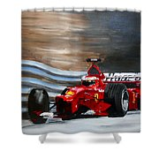 Schumacher Monaco Shower Curtain