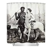 Schutzenberger Centaurs Shower Curtain