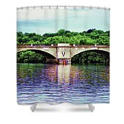 Schuylkill River Shower Curtain