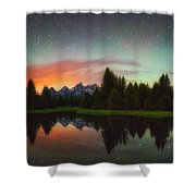 Schwabacher Heavens Shower Curtain