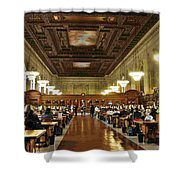 Schwarzman Building Shower Curtain