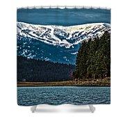 Schweitzer Mountain Resort Shower Curtain