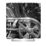Schwinn Apple Krate Shower Curtain