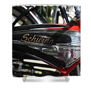 Schwinn Black Phantom Shower Curtain