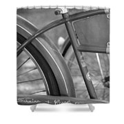 Schwinn Cycle Truck Shower Curtain