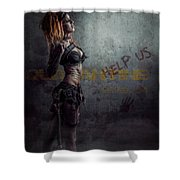 sci-fi Beauty 1 Shower Curtain