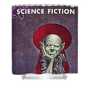Science Fiction Cover, 1954 Shower Curtain by Granger