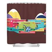 Scifikids Augmented Reality India Innovare Shower Curtain