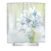Scilla Bifolia Shower Curtain