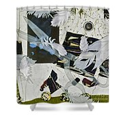 Remembrance II Shower Curtain