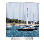 Scituate Harbor Shower Curtain