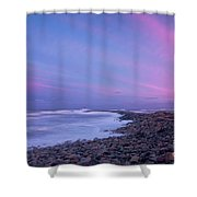 Scituate Sunset  Shower Curtain
