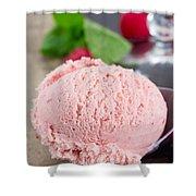 Scoop Of Icecream Shower Curtain