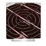 Scopes Of Military Precision  Shower Curtain