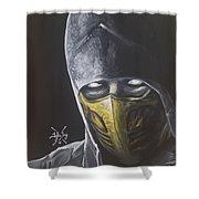 Scorpion Shower Curtain