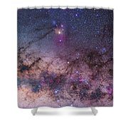 Scorpius With Parts Of Lupus And Ara Shower Curtain