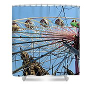 Scot Monument Edinburgh Shower Curtain