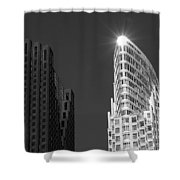Scotia Plaza And One King West Shower Curtain