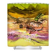 Scotland 14 Shower Curtain