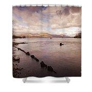 Scotland Landscape Shower Curtain