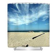 Scott Creek Beach California Usa Shower Curtain