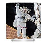 Scott Kelly, Expedition 46 Spacewalk Shower Curtain