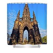 Scott Monument, Edinburgh, Scotland Shower Curtain