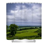 Scottish Countryside 1 Shower Curtain