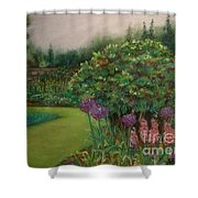 Scottish Garden Shower Curtain